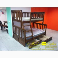 Трехспальная кровать Жасмин от производителя Мебель-Сервис