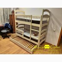Двухъярусная кровать Карина-Люкс Трио от производителя Мебель-Сервис