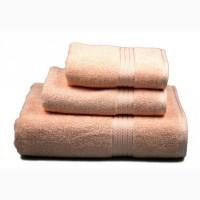 Полотенце махровое (персиковое), 70х140см арт. 85834