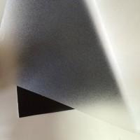Монтаж матовых пленок на стеклянные перегородки