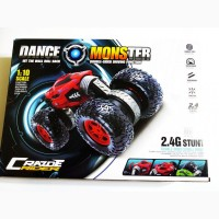 Машинка перевёртыш Dance Monster