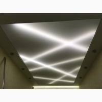Натяжные потолки с подсветкой в ЗП, Запорожье