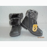Зимние детские ботинки, девочка, Clibee, Польша