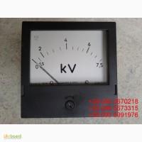 Продам со склада вольтметры щитовые Э365-1 на 7, 5кВ (подключение через т/н 6000/100)