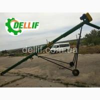 Шнековый погрузчик зерна - Деллиф (8м, 380В)