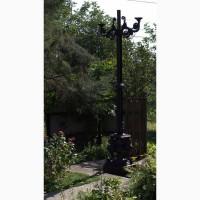 Декоративный светильник паркового освещения (Канделябр)