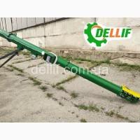 Транспортер зерна (шнековый погрузчик) - Деллиф (8м, 380В, труба 219 мм)