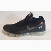 Кроссовки найк эйр макс на полном баллоне черный прозрачная подошва Nike Air Max Размеры