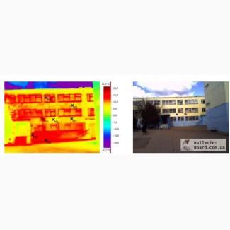 Энергоаудит, ТЕО, термосанация, термография, тепловизор