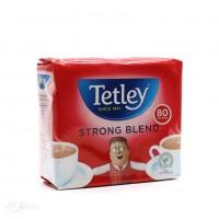 Английский чай TETLEY strong 80 пак. 250 грм.Годен до 04. 2018 г