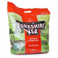 Английский чай- YORKSHIRE TEA - 480 пак. 1, 5 кг. годен 31. 10. 2018 г
