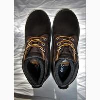 Ботинки ecco jayden 728513 hydromax оригінал замша натуральна промасленная р.33, 34, 35