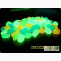 Люминесцентные светящиеся камушки, свечение до 8-12 часов ежедневно