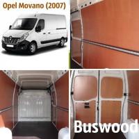Обшивка грузового отсека микроавтобуса Opel Movano