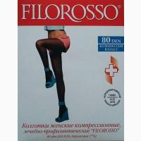 Колготки компрессионные FILOROSSO / 80DEN /класс 1