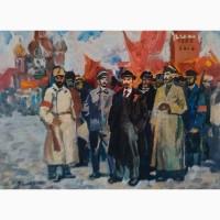 Вывоз картин времен СССР