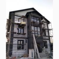 Покраска Фасада Дома. Большие Объемы