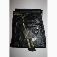 008 Новые черные штаны из эко-кожи. Размеры 29-33