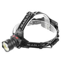 Налобный фонарь Police BL-8005 T6+COB +датчик движения
