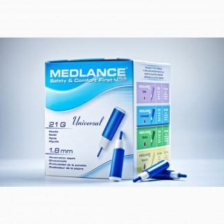 Ланцет скарификатор для забора крови Медланс плюс, universal, уп. 200 шт.Синий