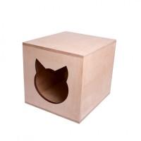Домик для кошки, кота из шлифованной фанеры продам, Харьков, доставка