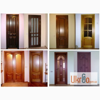 Изготовим деревянные двери любой сложности