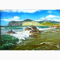 Картина Коктебель, (холст, масло, 60х90 см)