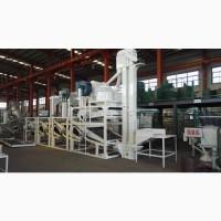 Линия для очистки, шелушения и сепарации семян подсолнечника ТFKH-1200