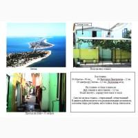 Продам 2-х этажный дачный домик на берегу Черного моря