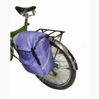 Вело сумка на багажник. V = 14л + 2 л карманы. Вело туризм. Вело прогулки