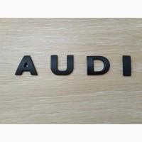 Металлические буквы ауди AUDI на кузов авто