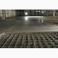 Промышленные бетонные полы с топпингом
