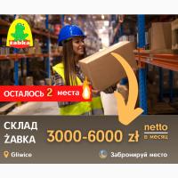 Работа и вакансии для мужчин и семейных пар в Польше на складах