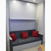 Изготовим шкаф-кровать-диван под заказ