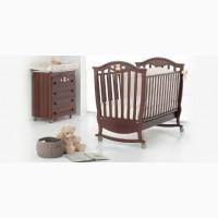 Итальянская мебель для детских комнат: кроватки, кровати, пеленальные столики, шкафы