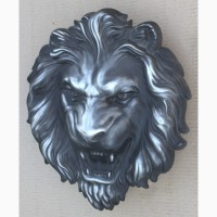 Барельеф - голова «Свирепый лев»