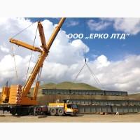Аренда автокрана Киев 40 тонн Либхер – услуги крана 10, 25 т, 100, 200 тн, 300 тонн