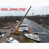 Аренда автокрана 90 тонн Като – услуги крана Днепр 16, 25 т, 50, 180 тн, 300 тонн