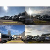 Микроавтобусы Mercedes-Benz, Renault, Volkswagen, автосервис в Одессе