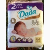 Продам детские подгузники Dada Premium 2, 3