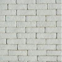 Купить белый декоративный кирпич для интерьера Карат