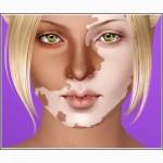 Камуфляж для закрашивания пятен при витилиго Base Skin, аналог витиколора