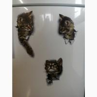 Наклейки котик номер 4 для ванны, кухни