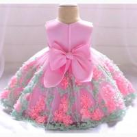 Нарядное платье для девочки для возраста 1-2 года, новое. Размер 90
