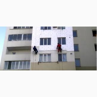Утепление стен, утепление подъездов, фасадов высотные работы Одесса