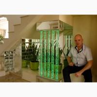 Пузырьковые колонны в интерьере от дизайн студии Романа Москаленко