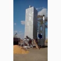 Зерносушилка шахтная ЗСШ (производительность 5 т/час)