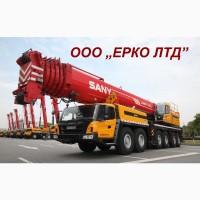 Аренда автокрана 70 тонн Като – услуги крана Полтава 16, 25 т, 40, 180 тн, 300 тонн