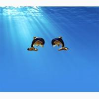 Серьги Energetix дельфинчики