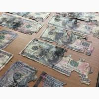 Обмен.Ветхие доллары, евро, фунты, франки. Одесса. Киев.Николаев
